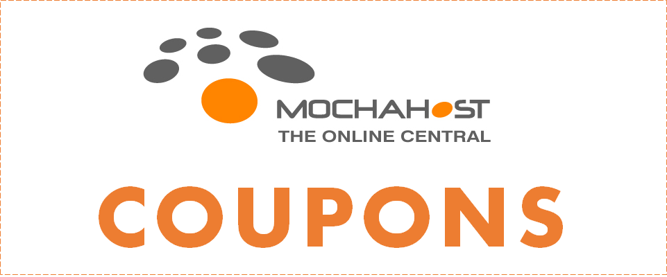 MochaHost discount coupon