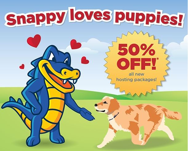 Hostgator coupon code 50% off on Pet Day