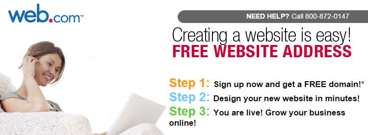 Web.com Discount 20% on Site Builder year end 2014