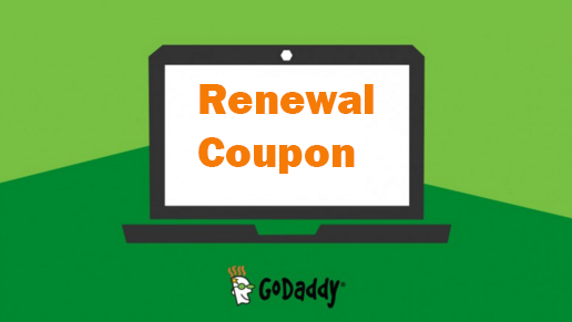 Godaddy renewal coupon 20% off on domain and hosting orders