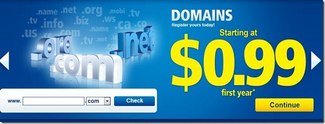 1and1 coupon domain for just $0.99 dollar