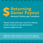 csl plasma coupon return