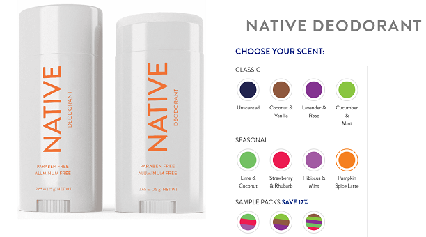 Native Deodorant Promo Code and Coupons