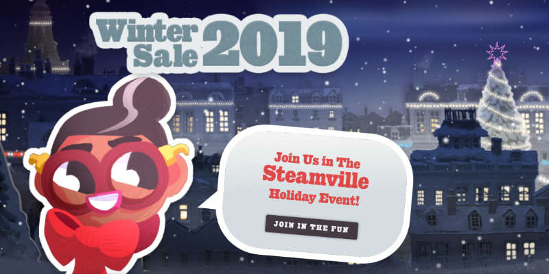 Steam Coupons for Winter Sale 2019