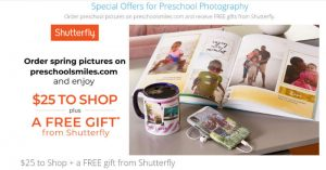 Preschoolsmiles Offer 2020 – Get $25 to Shop + a FREE gift from Shutterfly
