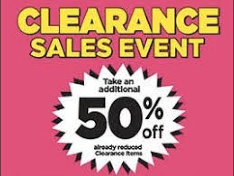 Clearance Sale Event 2020