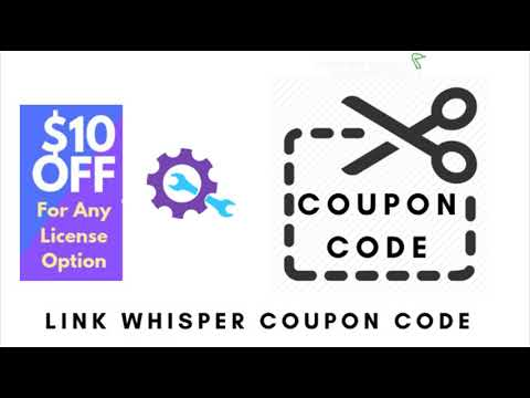 Link whisper coupon 10 OFF