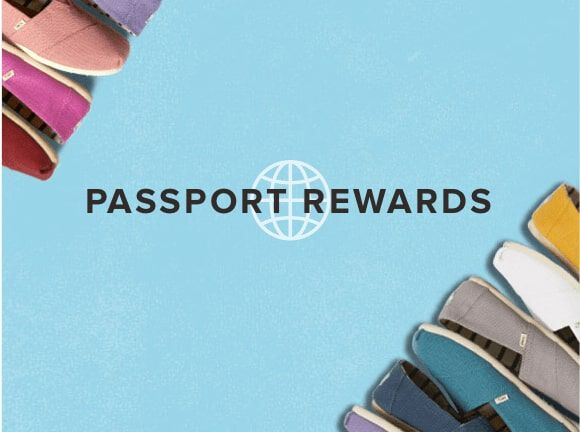 Toms Passport Rewards